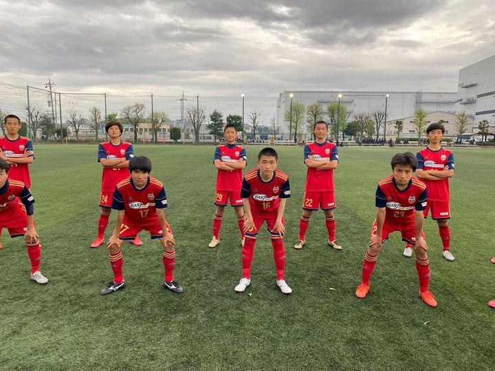 【U-15】関東ユース(U-15)サッカーリーグ(2部)第1節