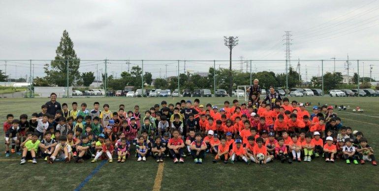 GRANDEジュニアサッカースクール姉妹校サッカー大会