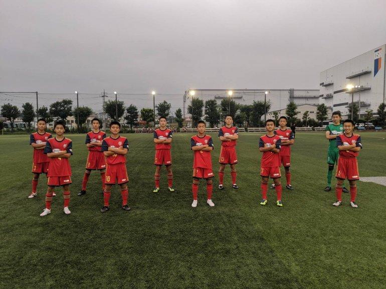 【U-15】関東ユース(U-15)サッカーリーグ(2部)第3節