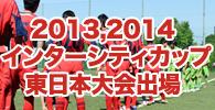 2013,2014 インターシティカップ東日本大会出場