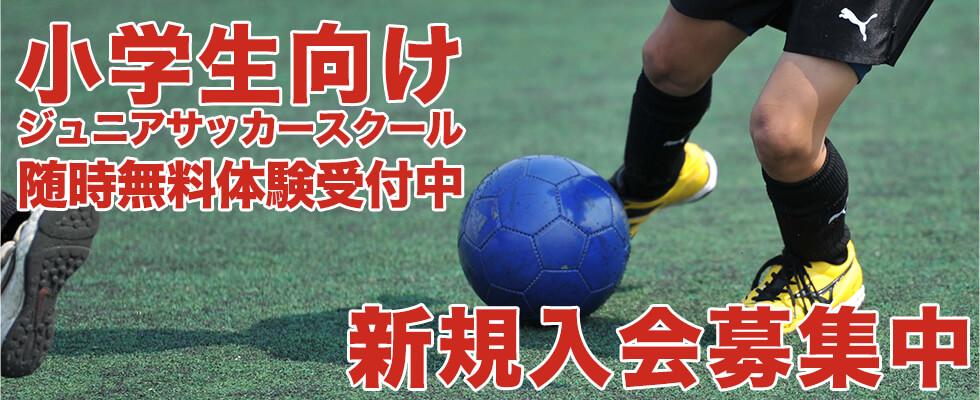 会員数500名突破!ジュニアサッカースクール